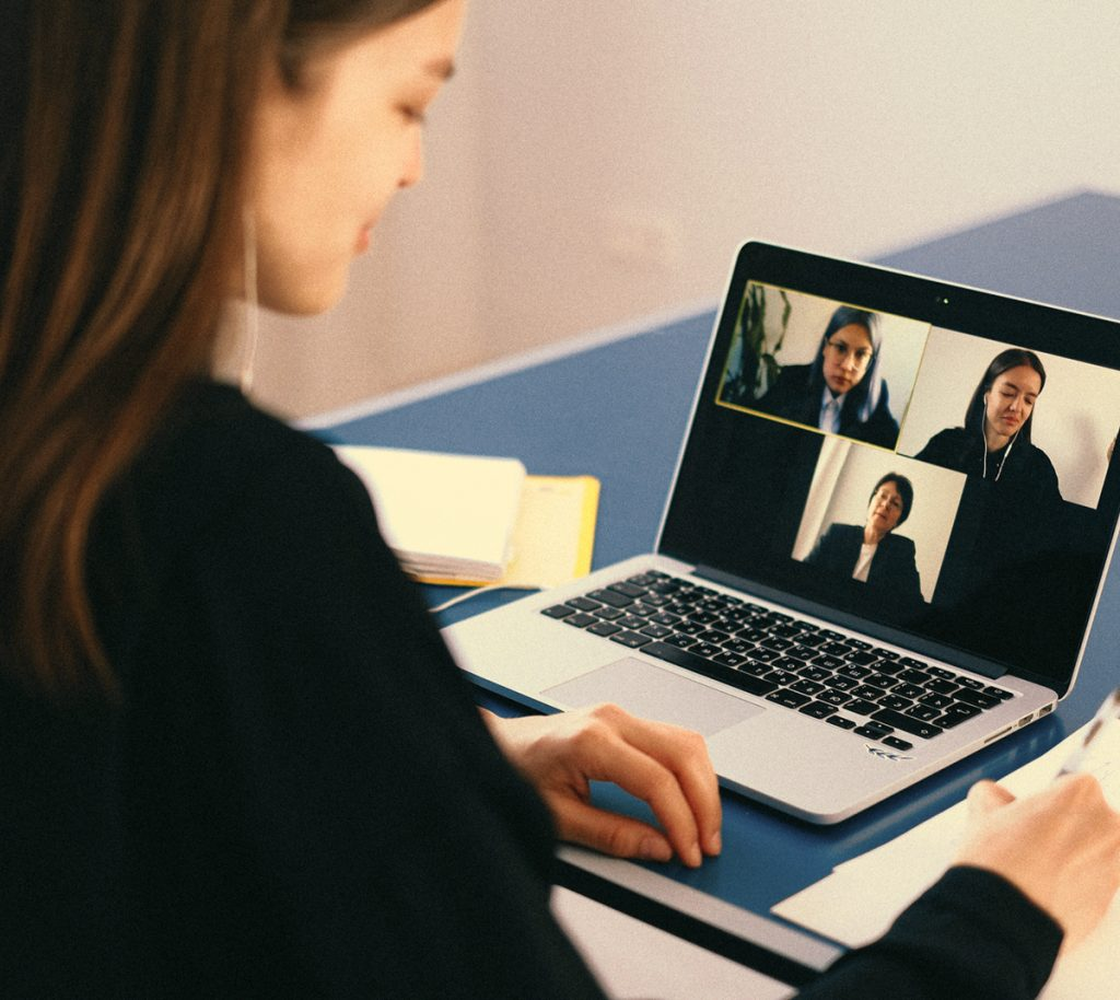 Videocall meeting Office