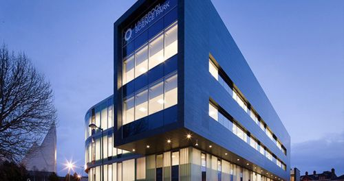Case Office liverpool science park header